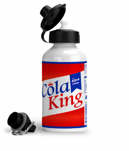 Cola King Aluminium Sports Gym Water Bottle Based on LA Noire